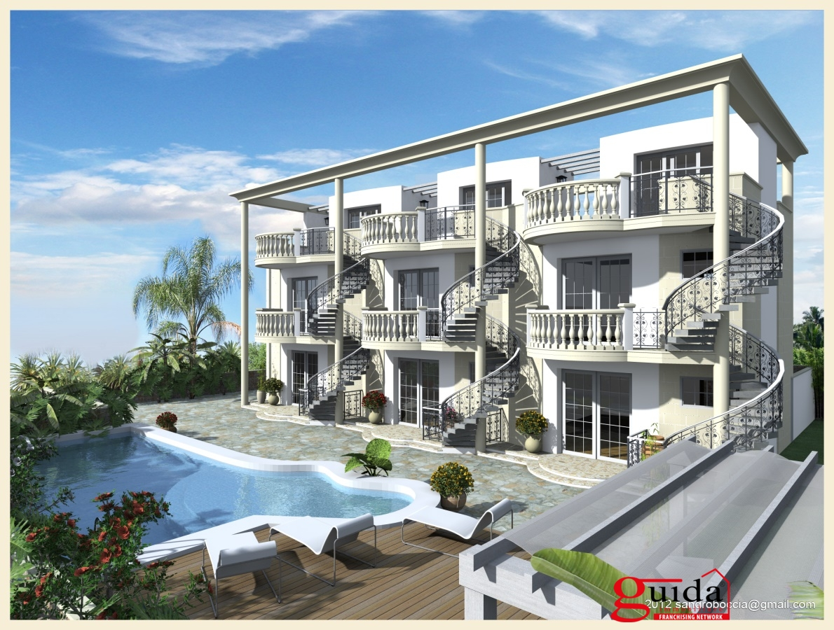 Nuove costruzioni nardo appartamenti in residence di prestigio in zona panoramica a santa maria - Appartamenti santa maria al bagno ...