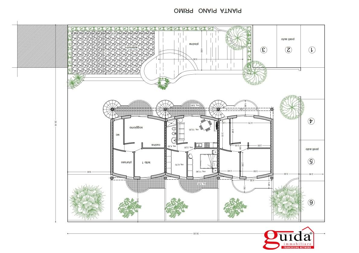 Vendita appartamento nardo appartamento in residence con for 1 piano 3 camere da letto 2 piani del bagno