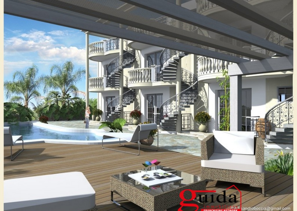 For Sale Apartment Nardo -  Apartment-in-residence-with-swimming-in-sales-a-Santa-Maria-the-bathroom Locality